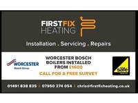 Gas safe. Central heating and boiler repairs, servicing and installations