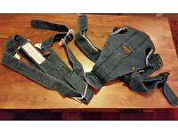 Baby Bjorn denim baby carrier harness lovely condition