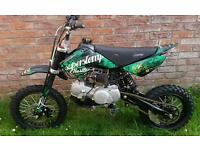STOMP 125cc pitbike (brand new engine)