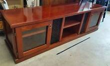 Solid timber entertainment unit Windella Maitland Area Preview