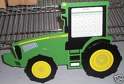 (JOHN DEERE 4 WHEEL DRIVE TRACTOR PERPETUAL CALENDAR new lowered price)