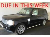 2006 (56) LAND ROVER RANGE ROVER 3.6 TDV8 VOGUE AUTOMATIC 4X4 TURBO DIESEL
