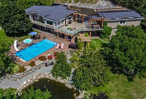 2751 Bodwell Road, Vernon. Private executive home on 7.9 acres