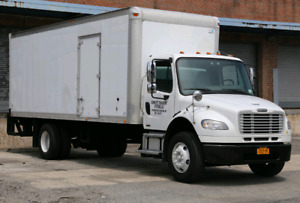 "Freightli M2 Business 5 Ton Straight Truck 26 "" box Tailgate"