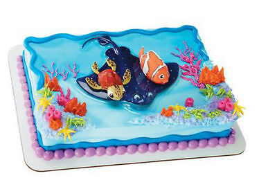 Finding Nemo cake topper Decoset figurine set decoration three pieces  - Finding Nemo Cake Topper