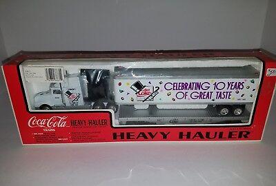 Coca Cola K-Line 1990 DIET COKE 10 Years Heavy Hauler Tractor Trailer Flat Car