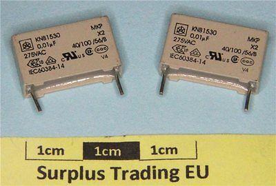 ISKRA 20x MKP-funkentstör-Condensateur 0,022uf 275vac x2