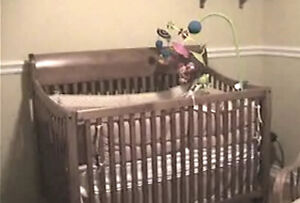 Baby Crib / Double frame bed