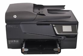 HP office jet 6600 with INK printer excellent working condition PRINT COPY SCAN FAX