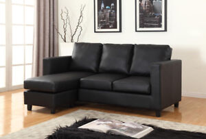 Small Sectional with Reversible Chaise! FREE Delivery in Toronto