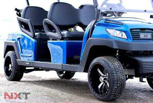 Electric Custom Golf Cart -  4 Seat forward