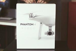 DJI Phantom 4 Quadcopter Drone with Camera & Controller - Ready-