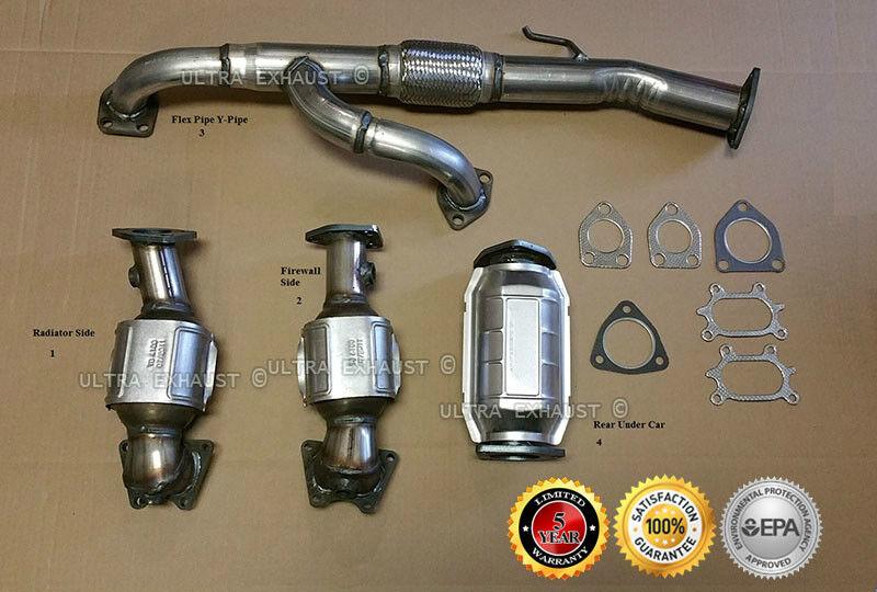 Acura MDX L Exhaust Catalytic Converters Flex - 2006 acura mdx catalytic converter