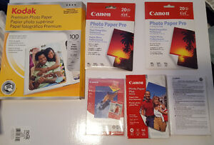 FREE 4x6 and 8.5x11 Photo Paper