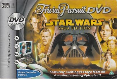 Star Wars Trivial Pursuit Star Wars Saga Edition DVD Game for sale  Shipping to Nigeria