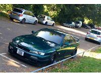 Nissan 200SX S14A Silvia UK spec.