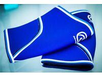 Original Blue Rehband 7051 Knee Support 7mm Large PAIR