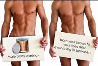 Waxing too >>PAINFUL<< Try SUGAR!!! Done on Men/Women