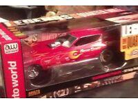 1/18 model dragster