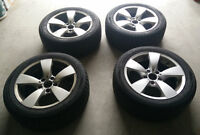 BMW STAR SPOKE 138 RIMS WITH SAILUN WINTER TIRES