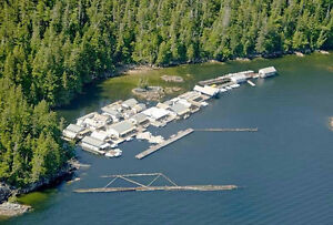 Large, well known Fishing Lodge on BC Coast