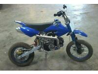 Big wheel pit bike 110cc semi auto