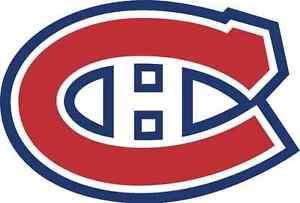 2 Billets Canadiens Club Desjardins B 209 F Bouffe a VOLONTÉ
