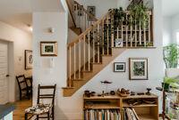 Beau condo sur 2 étages - Près du Marché Jean-Talon