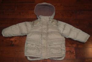 ZARA Puffer Jacket Size 3/4T & FREE OshKosh Sweaters Size 5/6