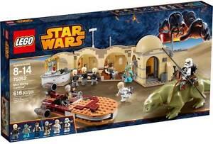 Lego 75052 Star Wars Mos Eisley Cantina BRAND NEW (RETIRED SET) Mundoolun Logan Area Preview