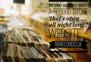 Retro Revolution - Open 24/7 - for Vintage Vinyl Records !