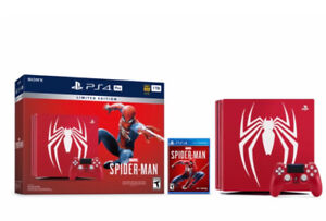Limited Edition Marvel's Spider-Man PS4 Pro Bundle - PlayStation