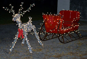 one of a kind sliegh and reindeer Belleville Belleville Area image 5