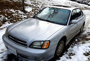 2002 Subaru Legacy GT Sedan