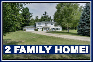 REDUCED 25K!! 5BR BUNGALOW ON 15 ACRES!