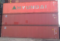 used 40'CH and 40' sea shipping containers for sale