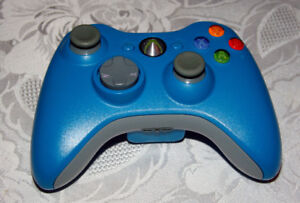 Wireless Blue Xbox360 Controller