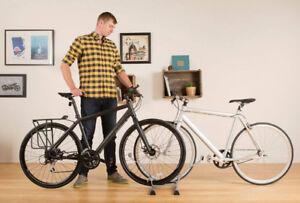 Bike organizer - floor stand