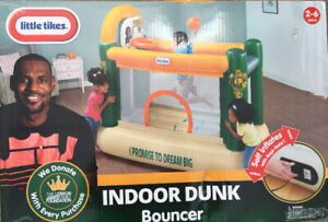 Little Tikes Indoor Dunk Bouncer / Lebron James / BRAND NEW