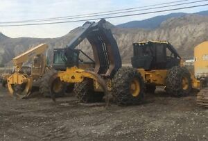 704-sx morgan grapple skidder 4425 hours forsale or go to work
