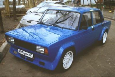 Rally Bodykit fenders + lip widebody VFTS style for LADA 2105 2107 Nova Riva