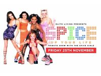2 tickets to Spice Girls tribute act at Halo Bournemouth