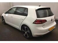 2015 WHITE VW GOLF 2.0 GTI TSI 220 PETROL 5DR MANUAL HATCH CAR FINANCE FR £67 PW