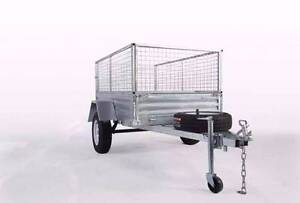 SALE! Hot Dipped GALVANIZED 8x5 BOX TRAILER Wetherill Park Fairfield Area Preview