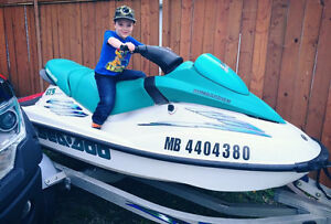 SEA-DOO GTS FOR SALE WITH TRAILER