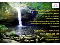 Level 1 Ayurveda course - classes starting soon