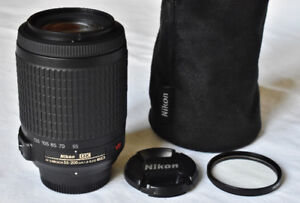 Nikon 55-200mm AF-S, VR, Telephoto Zoom