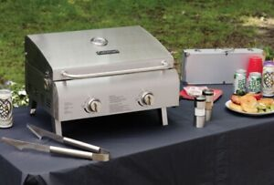 Cuisinart bbq  CGG-306 Chef's Style Stainless Tabletop Grill