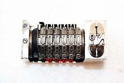 316 Roman Font Letterpress Numbering Machine 6 Digit Backward Heidelberg Kluge