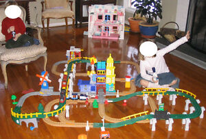 Fisher-Price GeoTrax - Ensemble complet de train